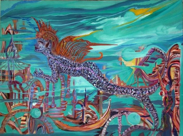 Ffmendoza - The mermaid butterfly