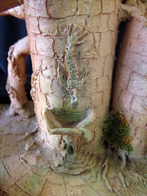 Ffmendoza - Ceramicas series terracotta 1991-detail -detalle