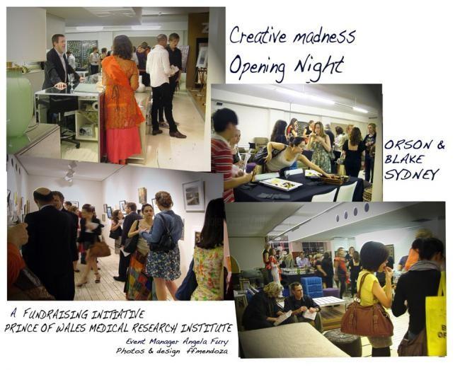 Ffmendoza - Creative madness _Sydney -exhibit