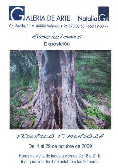 Ffmendoza - Evocaciones Cartel _ Exhibition Valencia