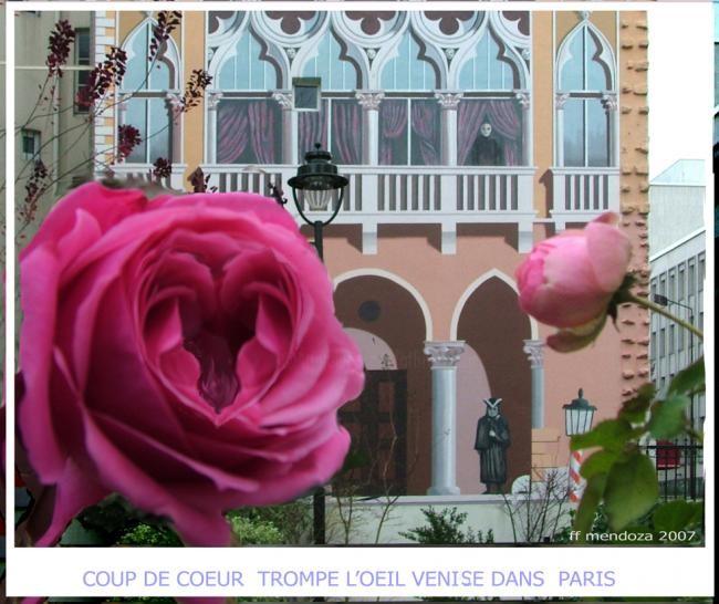 ffmendoza - coeup de coeur series - trompe l'oeil -paris