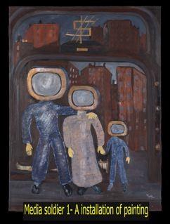 Acrilic paint ,social series