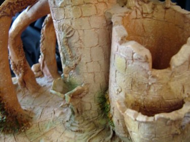 Ceramicas series terracotta 1991-detail -detalle