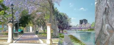 """City  artist""""s path"""