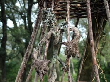 Detail -Dom garden art intervention /installation