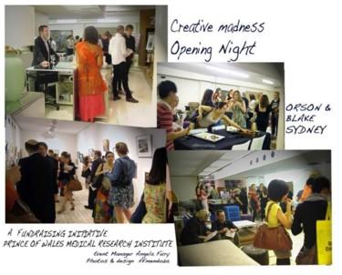 Creative madness _Sydney -exhibit