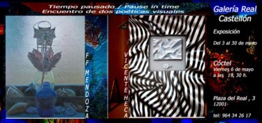 Invitation of the exhibiton pause in time -Castellon Spain